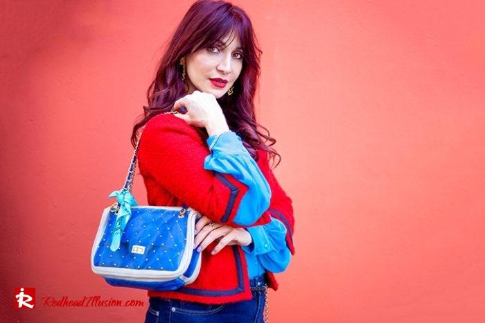 Redhead Illusion - Fashion Blog by Menia - Womens Spring Outfits With Llight Blue Shirt-11