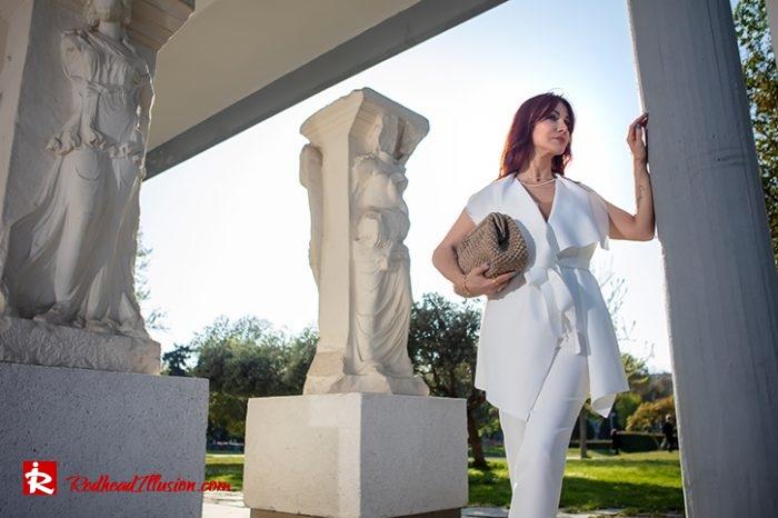 Redhead Illusion - Fashion Blog by Menia - Monochrome White-07