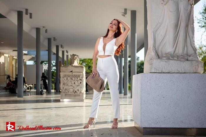 Redhead Illusion - Fashion Blog by Menia - Monochrome White-10