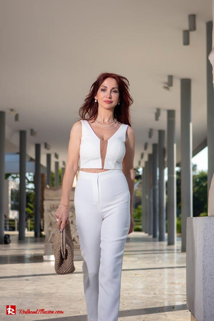Redhead Illusion - Fashion Blog by Menia - Monochrome White-11