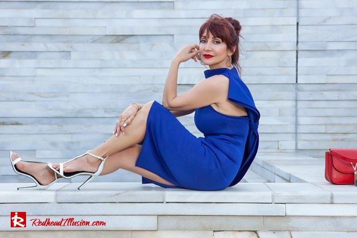Redhead Illusion - Fashion Blog by Menia - The Perfect Cocktail Dress-08