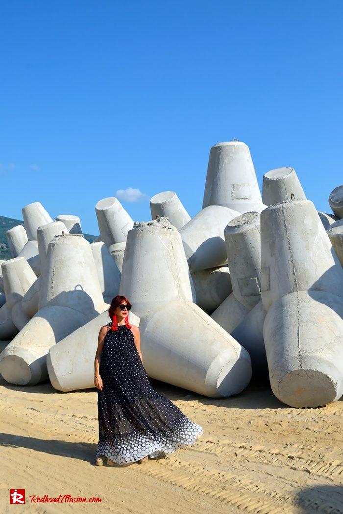 Redhead Illusion - Fashion Blog by Menia - Long, Airy, Elegant Dress-03