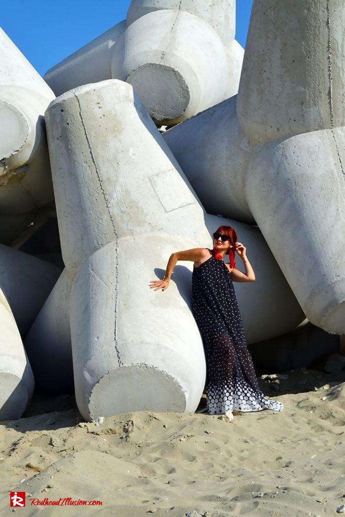 Redhead Illusion - Fashion Blog by Menia - Long, Airy, Elegant Dress-04
