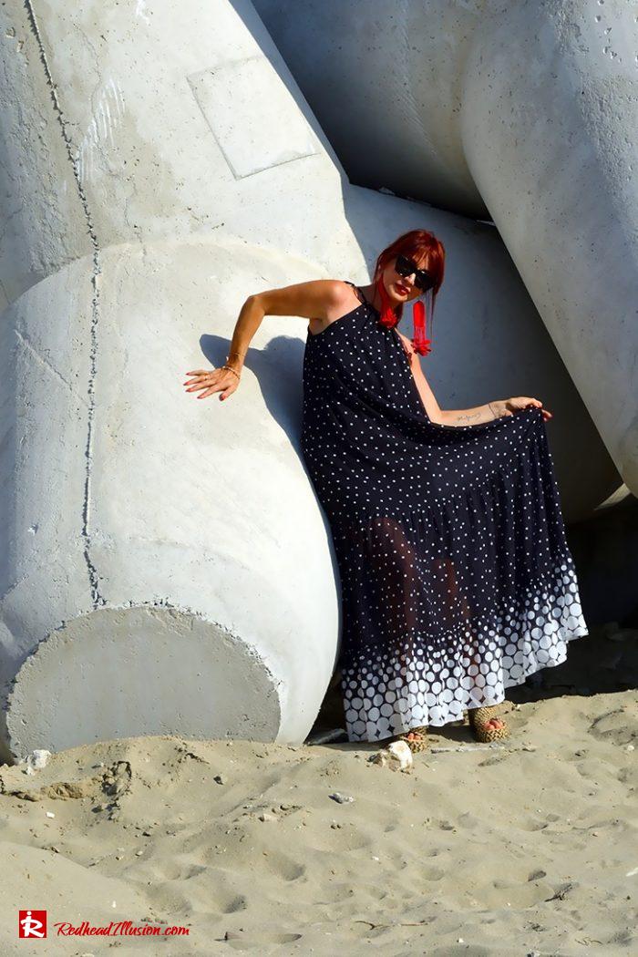 Redhead Illusion - Fashion Blog by Menia - Long, Airy, Elegant Dress-06