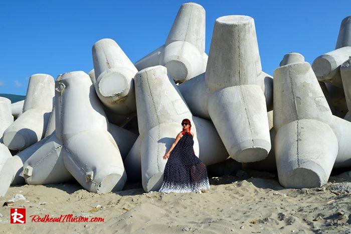 Redhead Illusion - Fashion Blog by Menia - Long, Airy, Elegant Dress-09