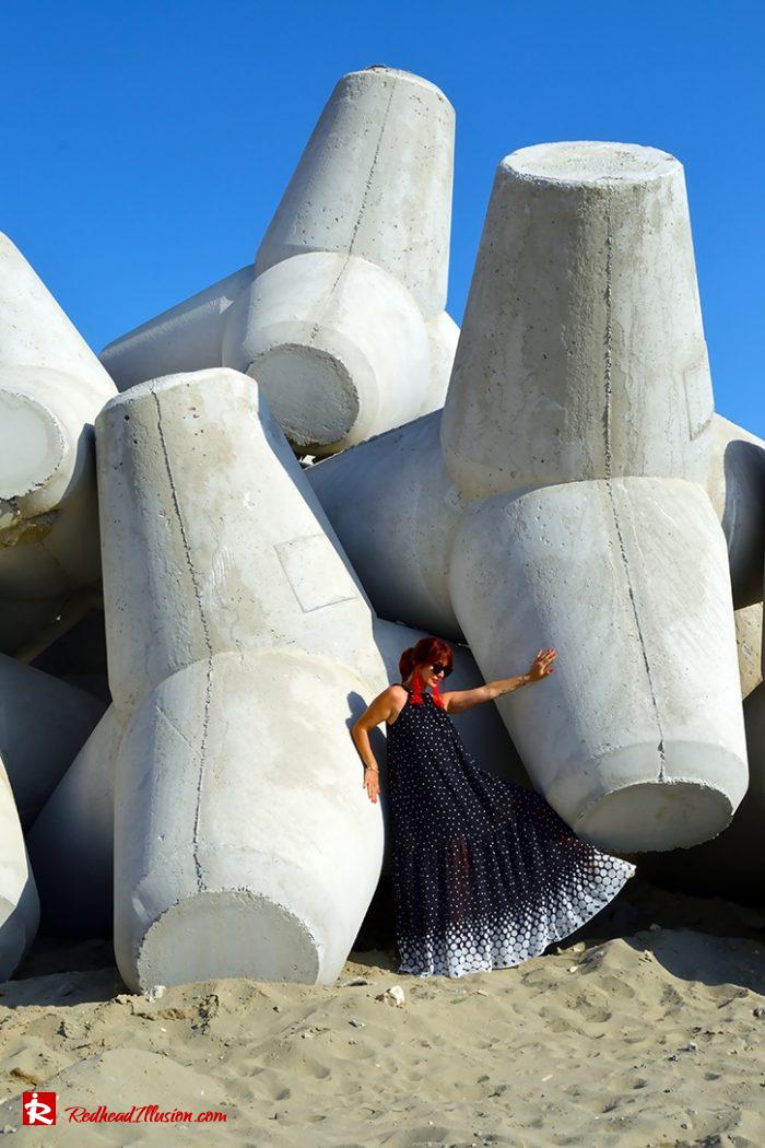 Redhead Illusion - Fashion Blog by Menia - Long, Airy, Elegant Dress-10