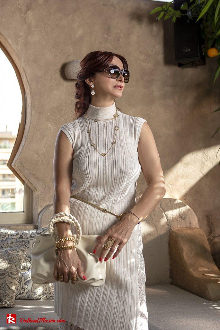 Redhead Illusion - Fashion Blog by Menia - Elegant Knitted Set-02