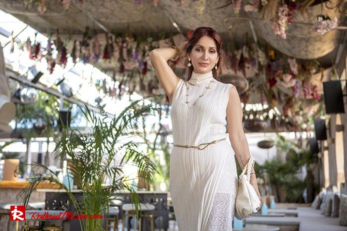 Redhead Illusion - Fashion Blog by Menia - Elegant Knitted Set-04