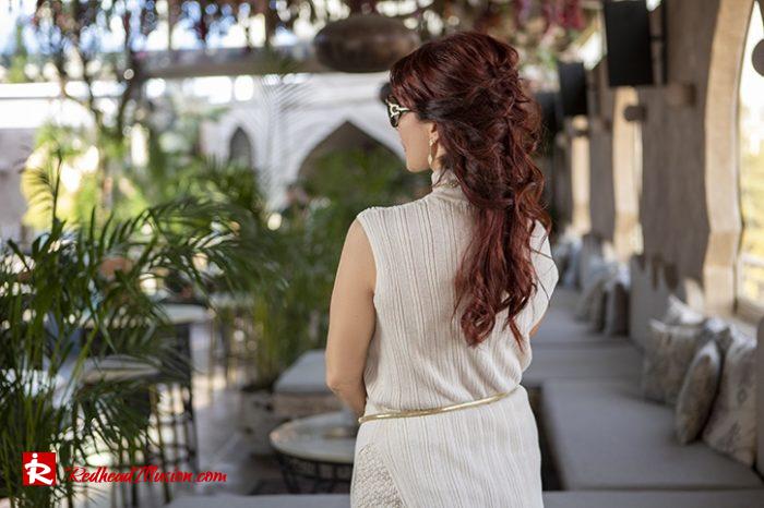 Redhead Illusion - Fashion Blog by Menia - Elegant Knitted Set-05