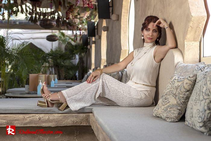Redhead Illusion - Fashion Blog by Menia - Elegant Knitted Set-08