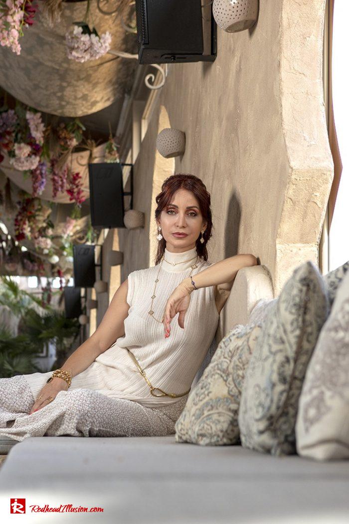 Redhead Illusion - Fashion Blog by Menia - Elegant Knitted Set-09